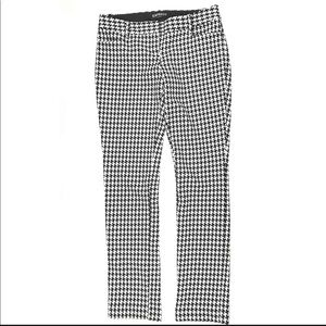Express Columist Houndstooth Career Pants 2